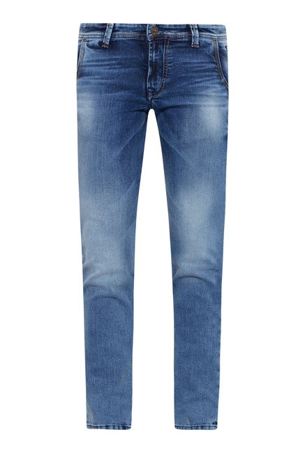 Killer Raw Indigo Skinny Fit Jeans
