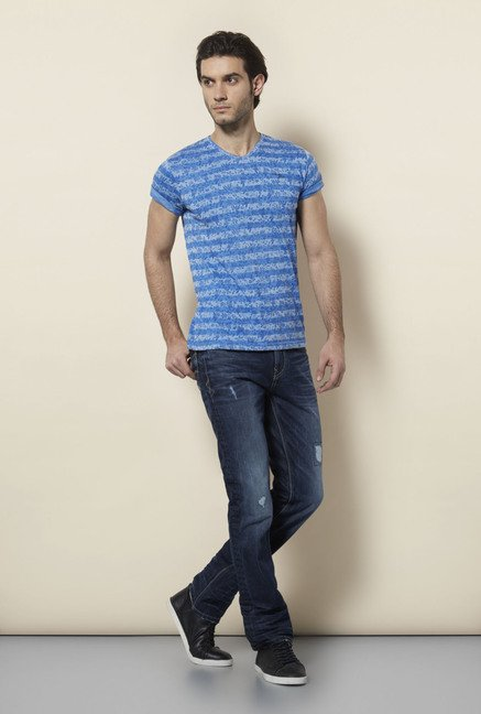 Killer Royal Blue Lamb T Shirt