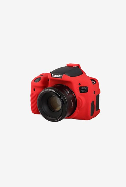 EasyCover Camera Case for Canon 750D/T6i Red