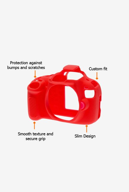 EasyCover Camera Case for Canon 1200D/T5 Red