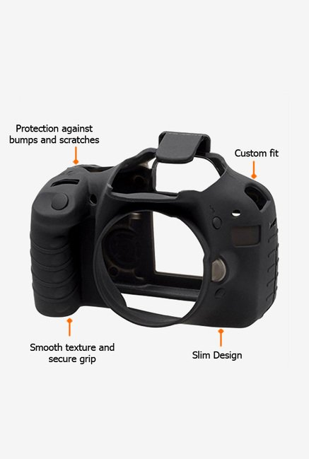 EasyCover Camera Case for Canon 550D/T2i Black