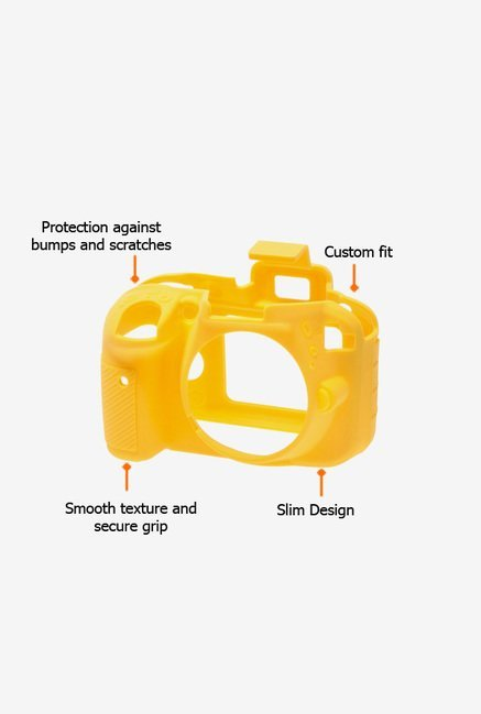EasyCover Camera Case for Nikon D3300 Yellow
