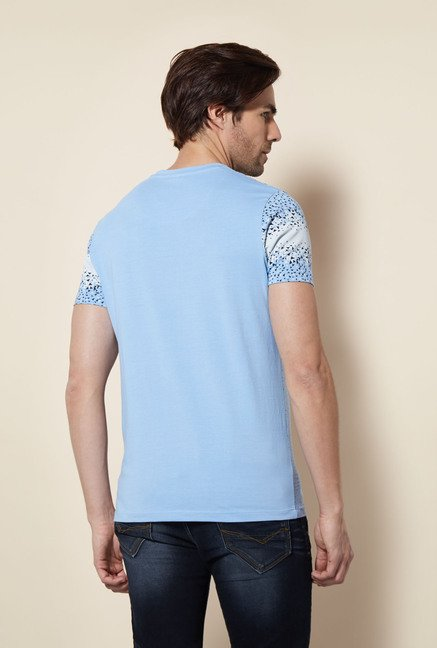 Killer Sky Blue Broke T Shirt