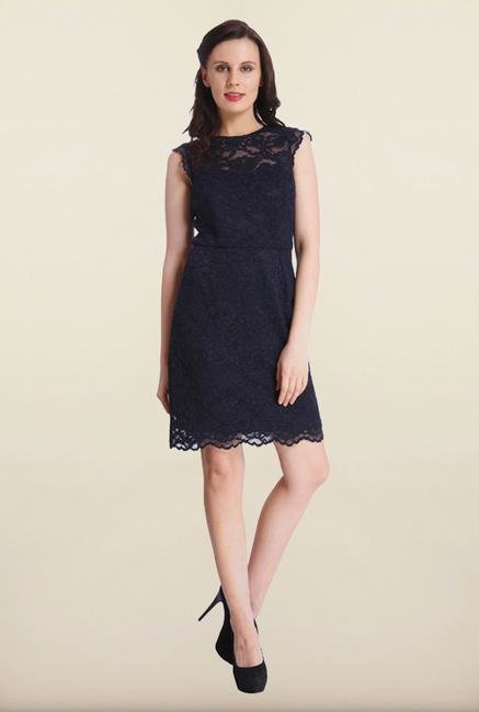 Only Navy Lace Dress