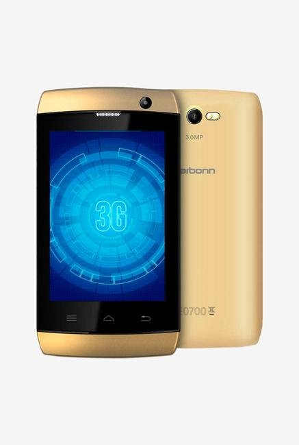 Karbonn A1 Plus Champ 512MB Smart Phone Champange