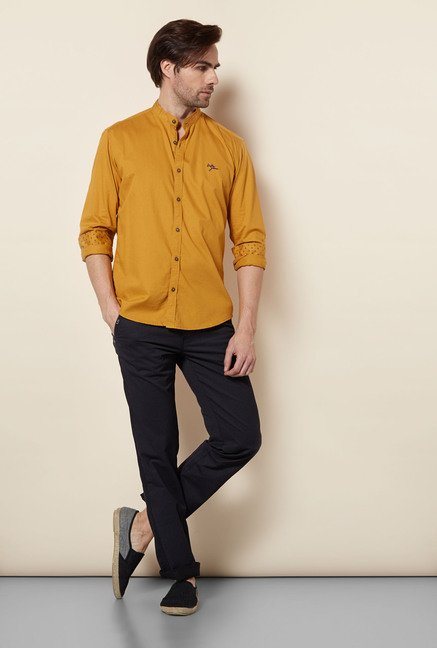 Killer Mustard Spectrum Casual Shirt