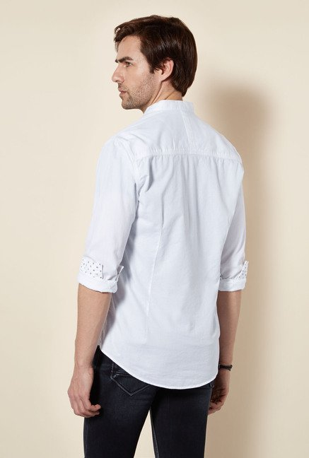 Killer White Spectrum Casual Shirt