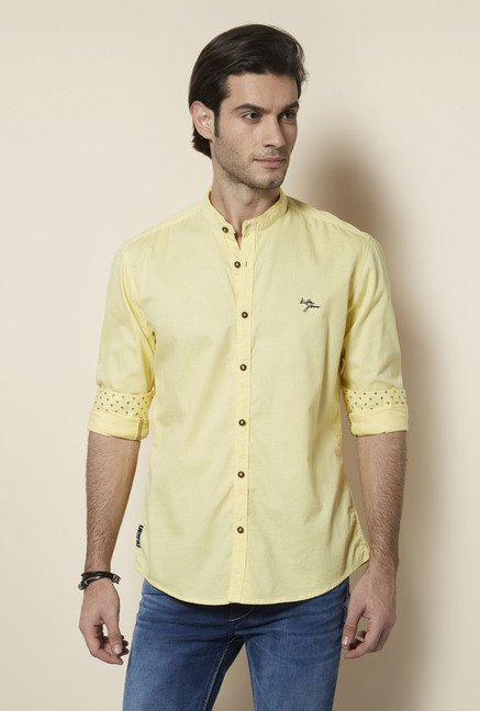 Killer Yellow Spectrum Casual Shirt
