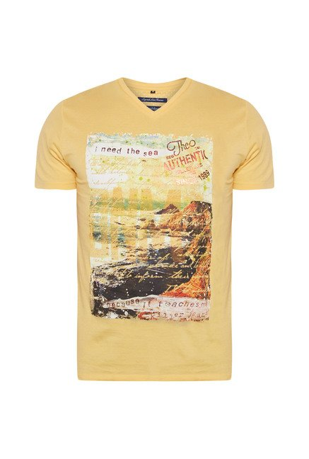 Killer Yellow Gavin T Shirt