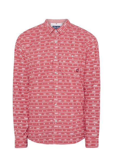 Killer Coral Printed Casual Shirt