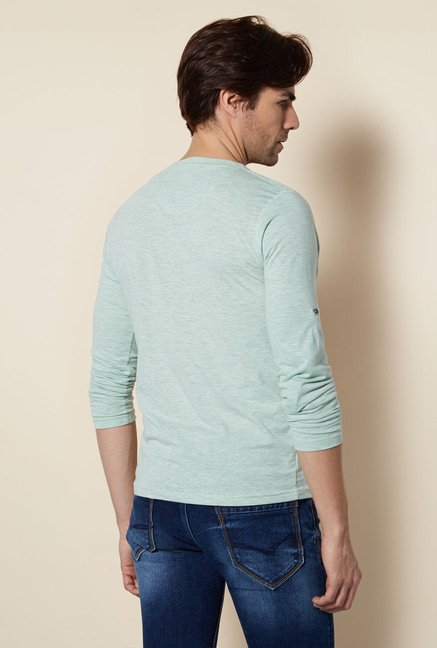 Killer Mint Henley T Shirt