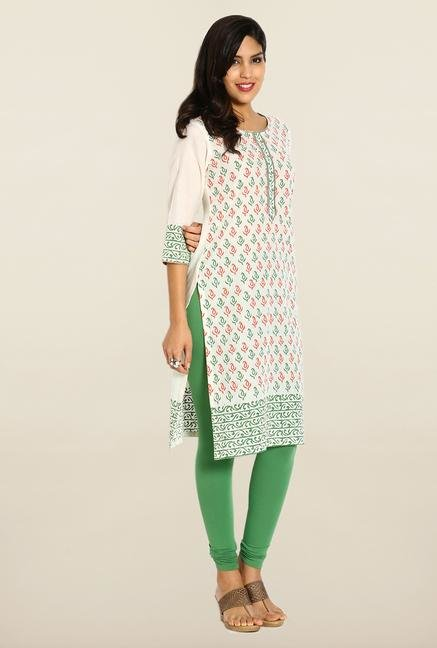 Soch Cream Cotton Kurta