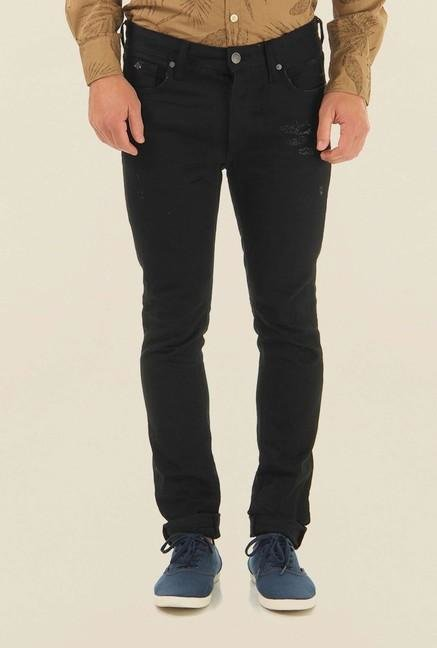Jack & Jones Black Low Rise Jeans
