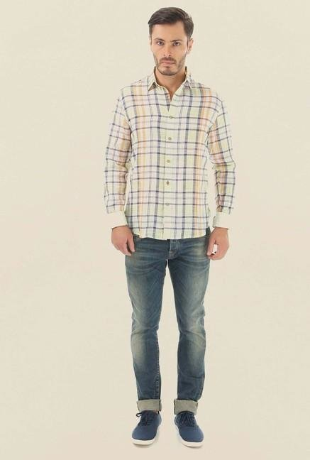 Jack & Jones Mint Checks Casual Shirt