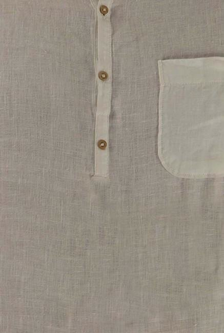 Jack & Jones White Solid Casual Shirt