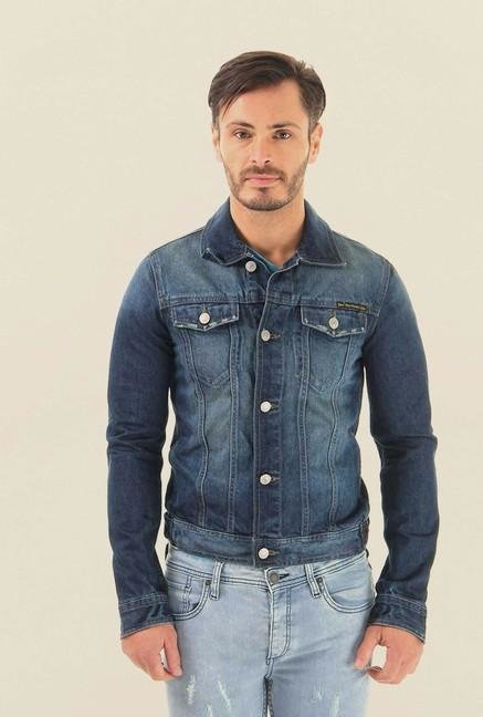 Jack & Jones Blue Denim Jacket