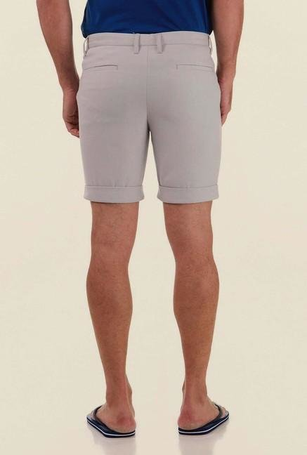 Jack & Jones Dark Grey Solid Shorts