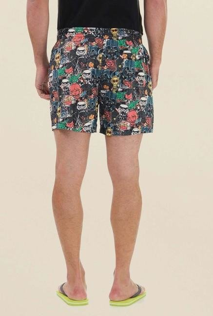 Jack & Jones Multicolor Printed Boxer