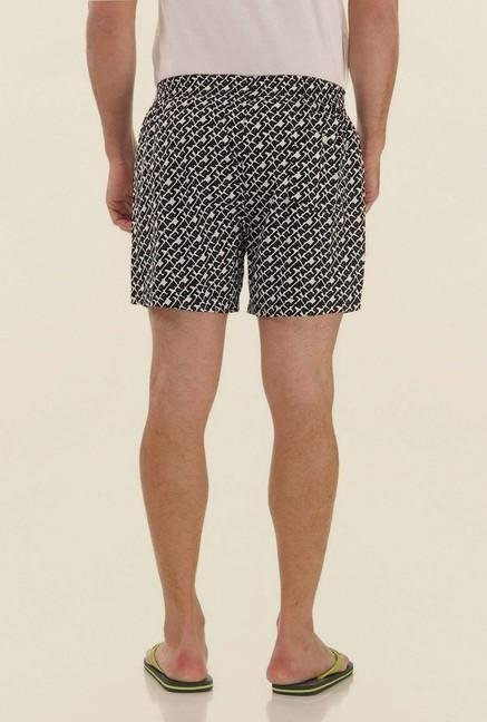 Jack & Jones Black Printed Boxer