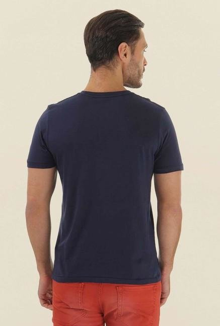 Jack & Jones Navy Printed T-Shirt