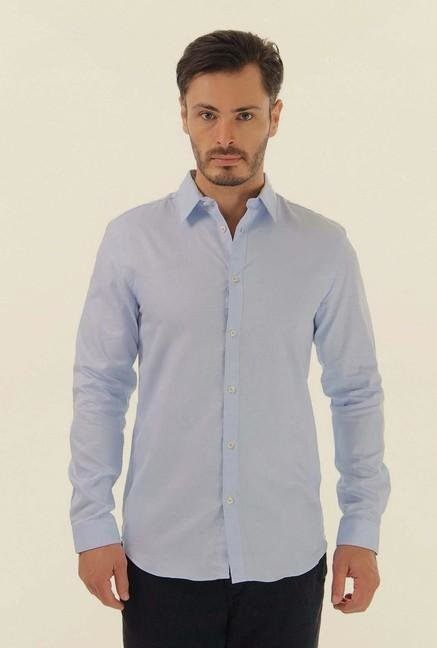 Jack & Jones Light Blue Casual Shirt
