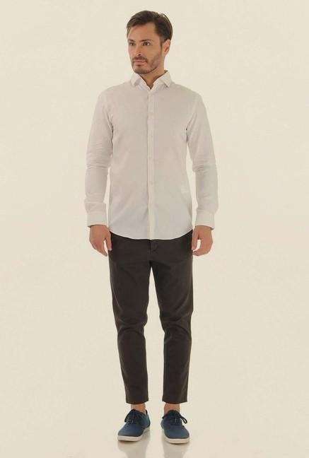 Jack & Jones White Casual Shirt