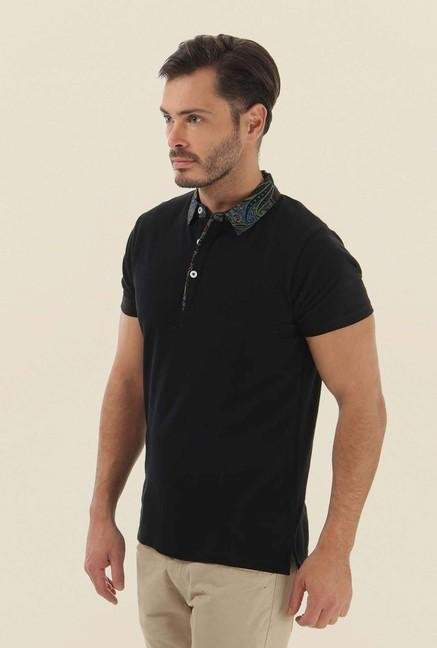 Jack & Jones Black Polo T-Shirt