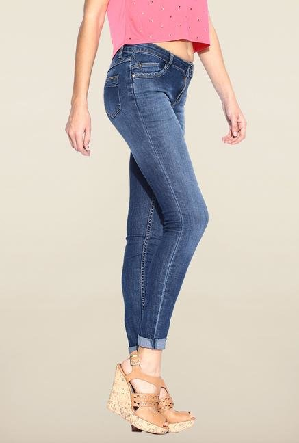 Kraus Blue Slim Fit Jeans