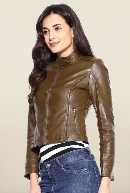 Kraus Dark Brown Solid Jacket