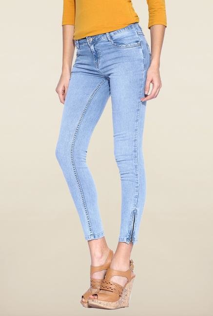 Kraus Light Blue Rinse Washed Jeans