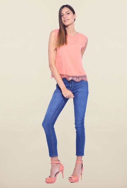 Kraus Blue Ankle Length Jeans