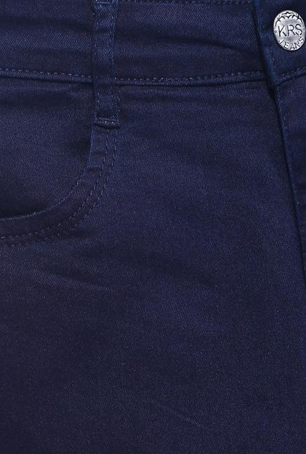 Kraus Navy Raw Denim Jeans