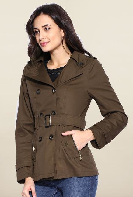 Kraus Coffee Solid Jacket