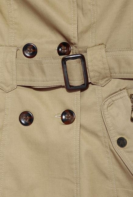 Kraus Tan Cotton Jacket