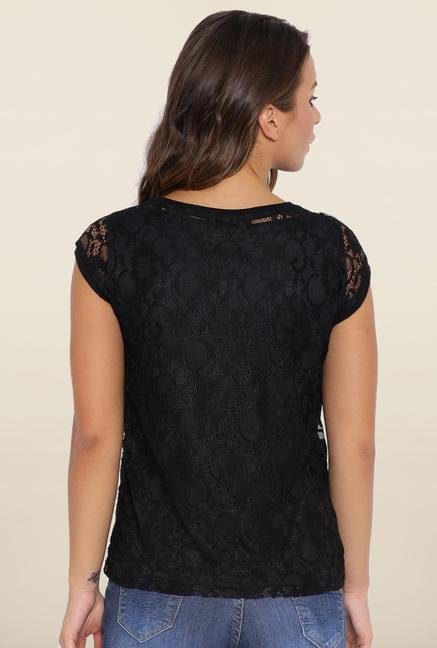 Kraus Black Lace Top