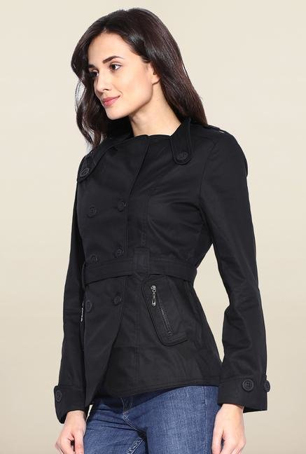 Kraus Black Cotton Jacket