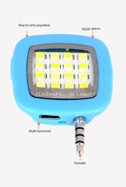 Fotonica 16 LED Selfie Flash Blue