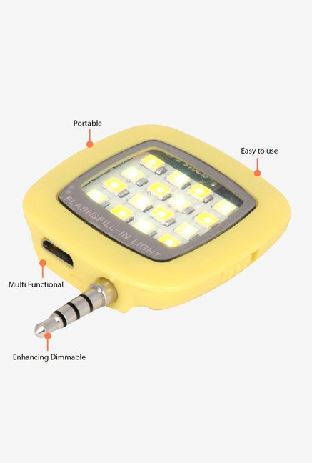Fotonica 16 LED Selfie Flash Yellow