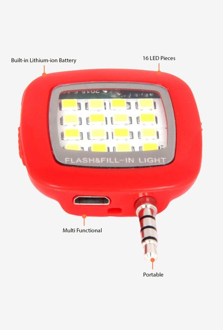 Fotonica 16 LED Selfie Flash Red