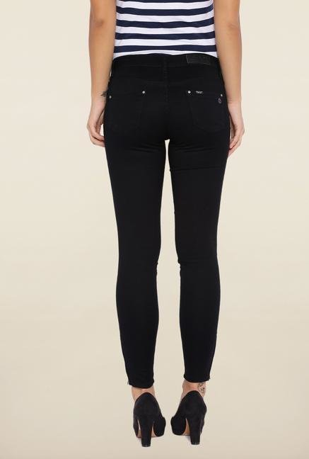 Kraus Black Ankle Length Jeans