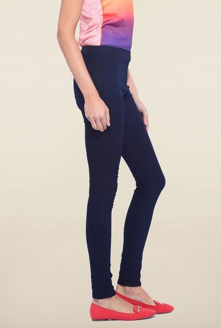 Kraus Navy Cotton Legging
