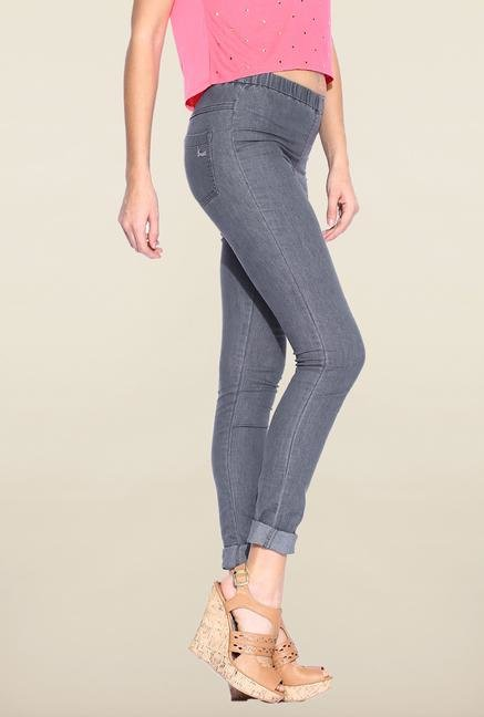 Kraus Dark Grey Cotton Legging