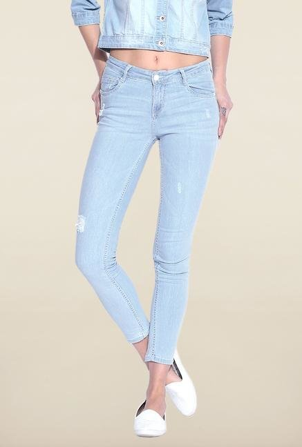 Kraus Light Blue Raw Denim Jeans