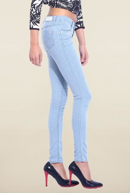 Kraus Blue Raw Denim Skinny Fit Jeans