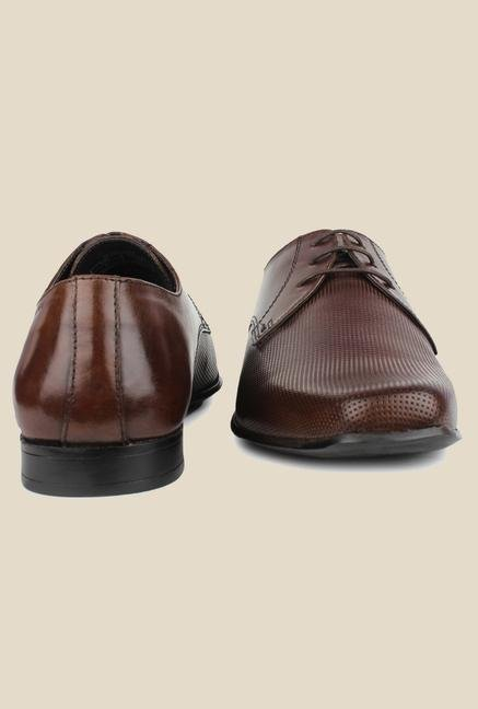 Red Tape Brown Formal Shoes