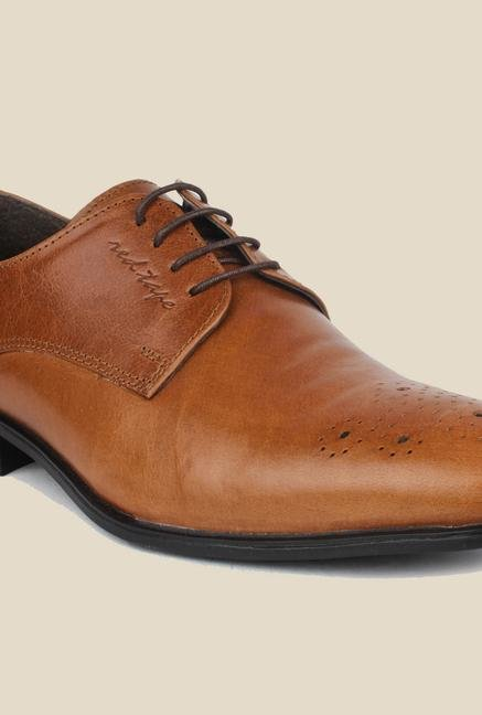 Red Tape Tan Formal Shoes