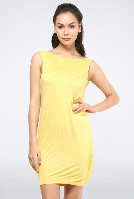 Femella Yellow Drop Jersey Cover Up