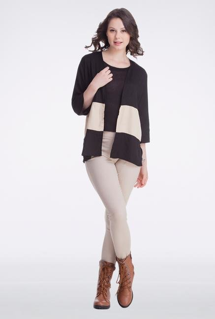 Femella Black Block Cape