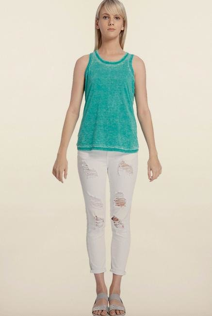 Vero Moda Turquoise Sleeveless Top