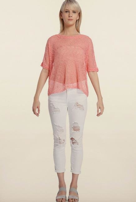 Vero Moda Peach Top